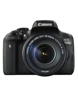 Canon EOS 750D DSLR Camera with 18-135mm IS Lens