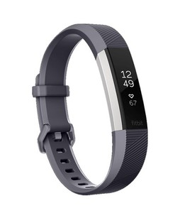 Fitbit Alta HR Fitness Wristband Blue Gray
