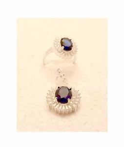 Gilgit Bazar Sapphire Stone Pendant+Ring (GB865)