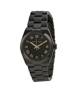 Michael Kors Mini Channing Womens Watch Black (MK6100)
