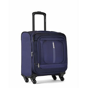 Carlton Tesla 4 Wheel Soft Trolley Bag - Blue