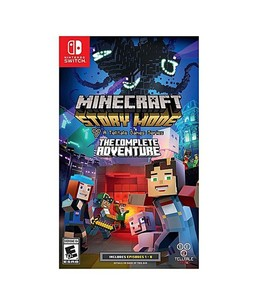 Minecraft: Story Mode - The Complete Adventure Game For Nintendo Switch