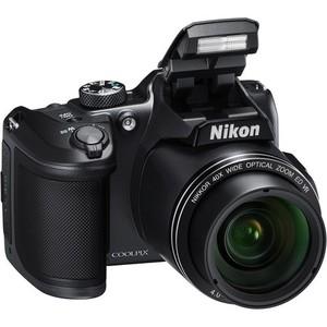 Nikon COOLPIX B500 Digital Camera Black - International Warranty