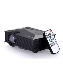 UNIC Mini WiFi Portable LED Projector Black (UC46+)