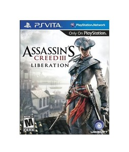 Assassins Creed III Liberation For Ps Vita Game