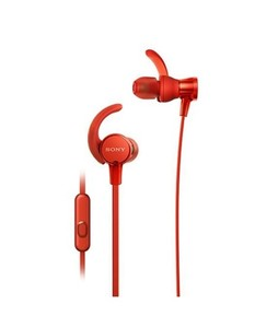 Sony Extra Bass Sports In-Ear Headphones Red (MDR-XB510AS)