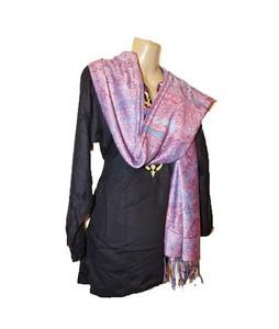 SubKuch Silk Pashmina Shawl For Women (0213)