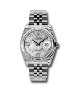 Rolex Datejust 36 Mens Watch Silver (116200SFAJ)