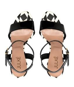 Julke Tribella Block Heels Sandal For Women - Noir