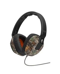Skullcandy Crusher On Ear Headphone Real Tree/Dark Tan/Tan (SGSCFY-325)