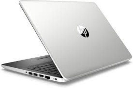 HP Notebook 14 Core i3 8th Gen 4GB 500GB 128GB SSD Touch Laptop Silver (14-DF0023CL) - Refurbished