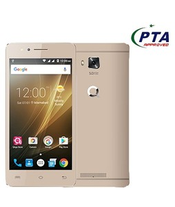 QMobile i8i 8GB Dual Sim Gold