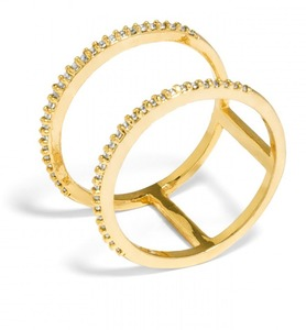 Baublebar Ice Lateral Gold Ring