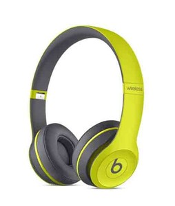 Beats Solo2 Wireless Headphone Active Collection Yellow