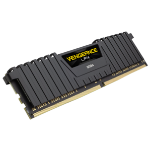 Corsair Vengeance LPX C16 8GB DDR4 2666MHz DRAM Memory For Desktop Black (CMK8GX4M1A2666C16)