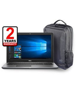 Dell Inspiron 15 5000 Series Core i7 7th Gen 8GB 1TB Radeon R7 M445 Laptop (5567) With Backpack - Official Warranty