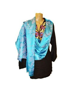 SubKuch Silk Pashmina Shawl For Women (UP-0018)