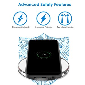 Cart92 Qi Standard Ultra-Slim Wireless Charger - White