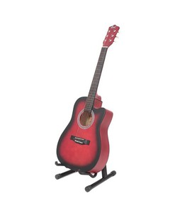 Bell 39 Matte Finish Acoustic Guitar with Bag Red Burst