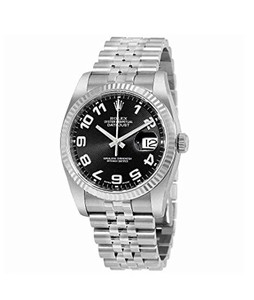 Rolex Datejust Mens Watch Silver (116234BKCAJ)