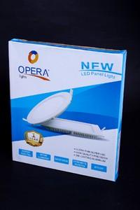 Opera Round LED Panel Light 6W - Warm White (Z-39)