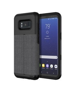 Incipio Wallet Esquire Dark Gray Case For Galaxy S8