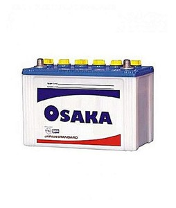 Osaka 13 Plates Acid Battery - White (S105+)