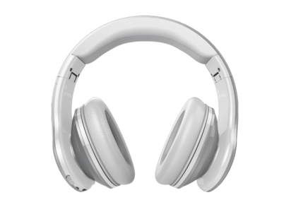 SMS Audio Active Noise Cancelling Wired Headphone Cool Silver