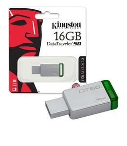 Kingston 16GB USB 3.0 Metal Flash Drive (DT50)