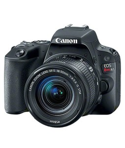 Canon EOS Rebel SL2 DSLR Camera with 18-55mm Lens Black