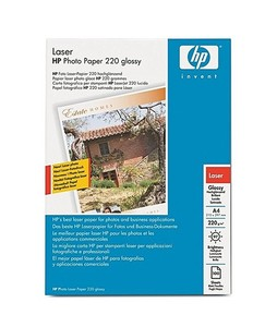 HP A4 Glossy Photo Laser Paper For Laser Printer 220gm (Q6614A)