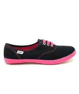 Bata Tommy Takkies Shoes For Women Black (589-6086)