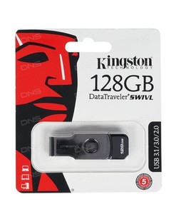 Kingston 128GB USB 3.1/3.0 (Dt-Swivl)