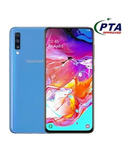 Samsung Galaxy A70 128GB 6GB RAM Dual SIM Blue - Official Warranty