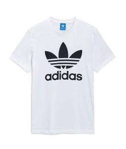 Next Adidas Originals Trefoil Mens T-Shirt White (189-653)