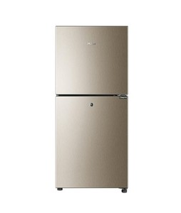 Haier E-Star Freezer-On-Top Refrigerator 7 Cu Ft Golden (HRF-216EBD)