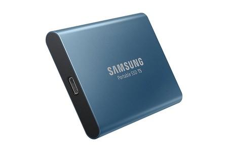 Samsung T5 250GB Portable External SSD USB 3.1 Blue (MU-PA250B)