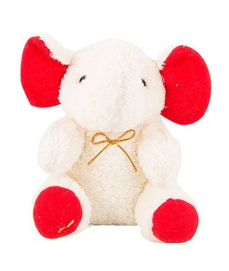 Asaan Buy 9 Cute Stuffed Toy White (TO-0026-F)