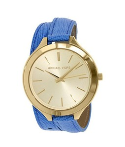 Michael Kors Slim Runway Womens Watch Blue (MK2286)