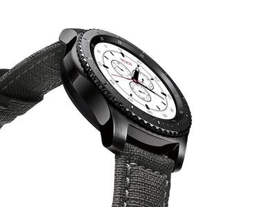 Samsung Gear S3 Frontier TUMI Special Edition Smartwatch