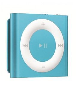 Apple iPod Shuffle 4th Generation 2GB Blue