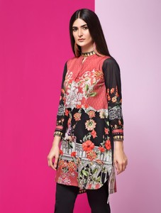 Khas Stores Stitched Lawn Kurti For Women 1 Piece (DR-286)