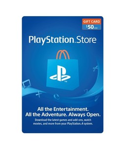 PlayStation Store Gift Card $50 - PS3/PS4/PS4 Pro/PS Vista - Email Delivery