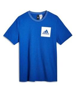 Next Adidas Royal Essential Small Logo  Mens T-Shirt Blue (905-695)