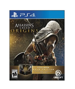 Assassins Creed Origins SteelBook Gold Edition for PS4 Game