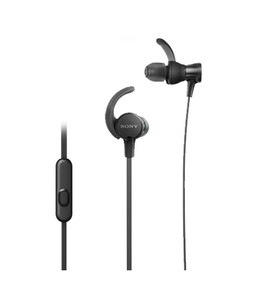 Sony Extra Bass Sports In-Ear Headphones Black (XB510AS)