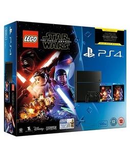 Sony PlayStation 4 500GB Console with LEGO Star Wars Game + Blu-Ray Movie