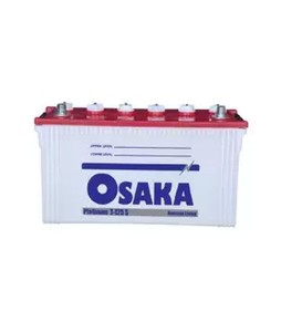 Osaka Platinum T-125 S Acid Battery - White