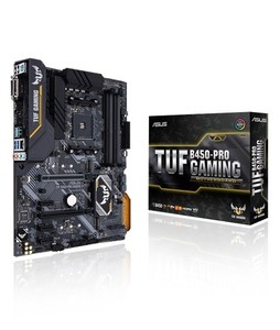 Asus TUF B450-PRO AMD AM4 ATX Gaming Motherboard