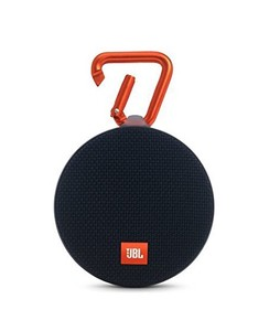 JBL Clip 2 Waterproof Portable Bluetooth Speaker Black